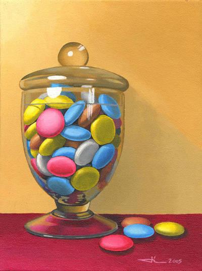 The glass candy box by jilub