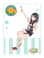 AHT: Yukimura Aki by kumashiorz