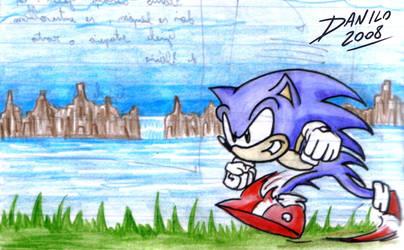 Sonic by TheInsaneDarkOne