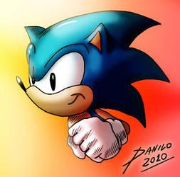 Sonic test by TheInsaneDarkOne