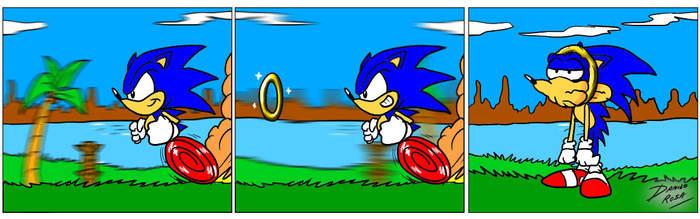 Sonic fun by TheInsaneDarkOne