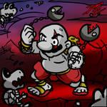 Mario of War by TheInsaneDarkOne