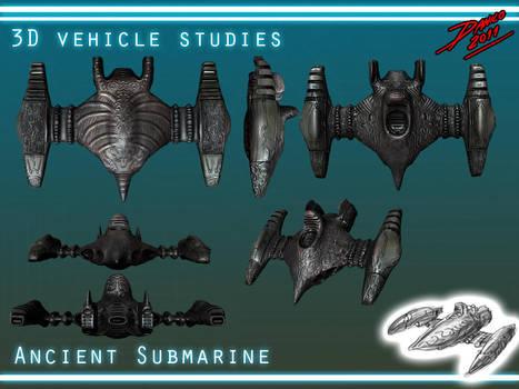 Ancient submarine by TheInsaneDarkOne