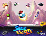 Space Rockets debut by TheInsaneDarkOne