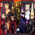 Patreon June 2018 art pack now available! by TheInsaneDarkOne