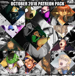 October 2018 Patreon pack now available! by TheInsaneDarkOne