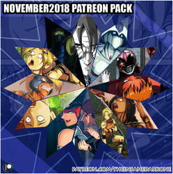 November 2018 Patreon pack now available! by TheInsaneDarkOne
