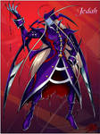 Darkstalkers re-design - Jedah by TheInsaneDarkOne
