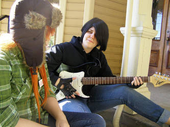 Hey Wendy, I Can Play Guitar..... by ClockworkDinosaurs