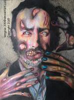 Zombie Rick ~ TWD by lemgras330
