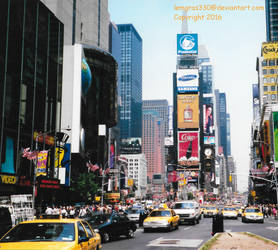 New York City by lemgras330