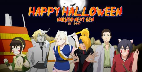 Naruto: Next Gen Halloween by SractheNinja