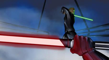Star Wars - The final battle! by 1981kuro