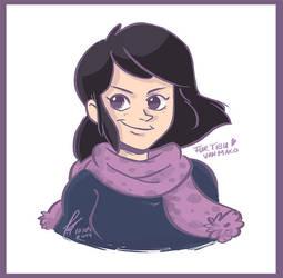 Tibu portrait by Makoto4bidden