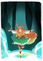 mysterious forest by Makoto4bidden
