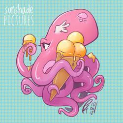 icecream octopus by Makoto4bidden