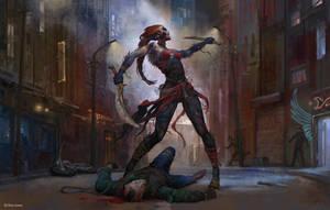 Awakened Huntress by mokhman