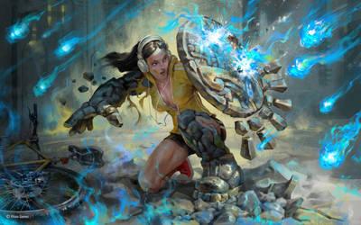 Mythgard. Bulwark by mokhman