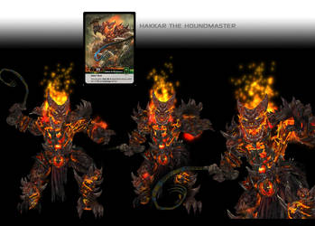 Hakkar the Houndmaster 3D model by Vaanel