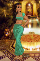 Princess Jasmine in India by LadyAquanine73551