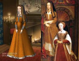 Elizabeth of York+Tudor Dynasty Portrait by LadyAquanine73551