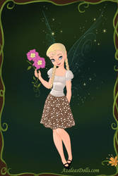 Primrose Everdeen as a Fairy by LadyAquanine73551