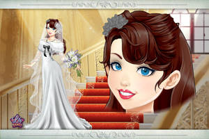 Retro Glamour Bride by LadyAquanine73551