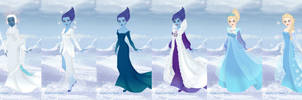Elsa Evolution by LadyAquanine73551