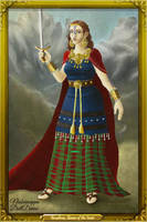 Boudicca's Portrait by LadyAquanine73551