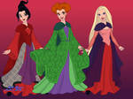 The Sanderson Sisters by LadyAquanine73551