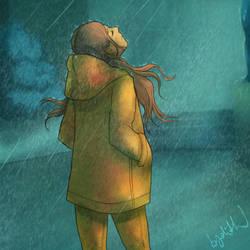 Rain by Byolith