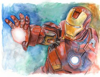 Iron Man by LukeFielding