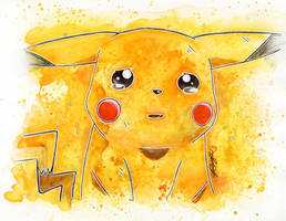 Crying Pikachu by LukeFielding