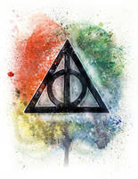 Deathly Hallows by LukeFielding