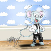 Rind 'The Space Mouse' by LukeFielding
