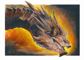 Smaug by LukeFielding