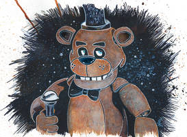 Five Nights at Freddy's by LukeFielding