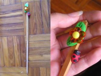 Hair stick by sweetlittlemou