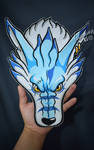 Weregarurumon embroidered patch by Secret-Rendez-vous