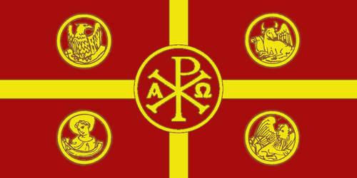 Bandera Teocracia Patriarcal by cdmonte