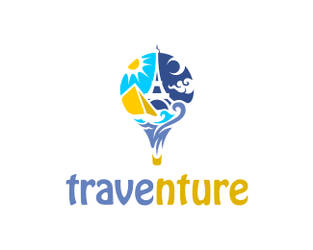 Traventure Logo by saptoseven
