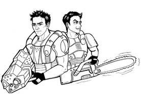 Les DOOM marines by SargeCrys