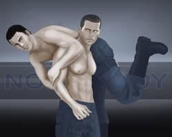 Shepard'n'Alenko by SargeCrys