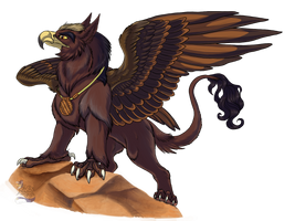 Gryphon by Husgryph
