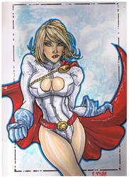 Power Girl by stevelydic