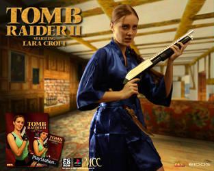 Cosplay Lara Croft - Tomb Raider II by MissCroftCosplay