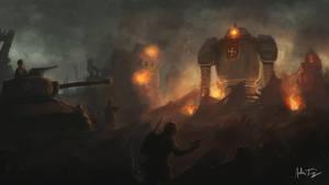 Nazi Robots by ARTazi