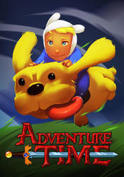 Adventure Time Poster by ARTazi