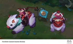 League of Legends Porofest Sejuani Concept by ARTazi