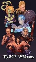 Twitch | Warriors Art Request Stream by ARTazi
